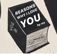 Love, I Love You, and Why: REASONS  WHY I LOVE  YOU  by me  earteyes.xOxo