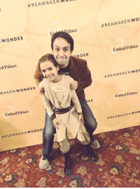 Memes, Rey, and Good Morning:  #REAWAKENWei  WONDER  lace  #REAWAKENWO  d Palace  NDER  United Palace  WAKEN WONDER  #REAWAKENWO  E R  United Palace  United Palace  Good morning from yours truly & Rey aka Baby Blankenbuehler WOOOOOOOOOOOOOOOOOOOO https://t.co/M6veCje9qO
