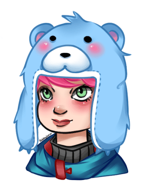 rebbybearr:  winter wonder zarya, her bear hat is so cute ♥: rebbybearr:  winter wonder zarya, her bear hat is so cute ♥