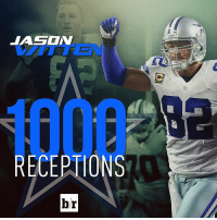Jason Witten becomes the 2nd TE in NFL history with 1,000 catches!: RECEPTIONS  br Jason Witten becomes the 2nd TE in NFL history with 1,000 catches!