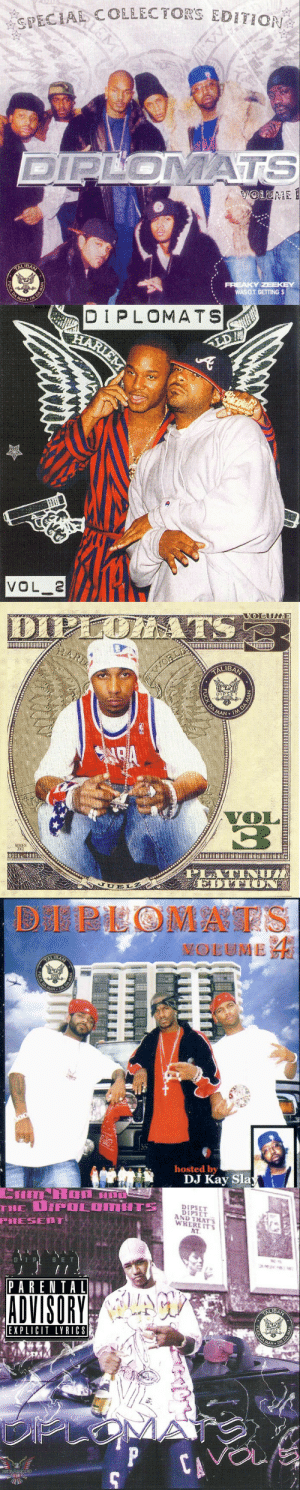Lyrics, Hosted, and Sla: RECIA COLLECTORS EDITION  WAS O.T GETTING $   DIPLOMATS  VOL 2   DIPSE  SERIES  2000   DEPLOMAES  hosted by  DJ Kay Sla   店了  ADVISORYA  ALIBA  EXPLICIT LYRICS  MAN