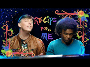 "thejoanglebook:  thatsthat24:NEW ORIGINAL SONG: ""Recipe for Me"" 🌸 I am so incredibly proud of all the people who came together to make this song and video a reality. It's turned out to be one of favorites and I hope it will be one of yours too. Enjoy!! https://youtu.be/qHOiIuJ_7Cs LYRICS:There are shouters, and murmurersLoan sharks and burglarsWho's good or bad? Who's to say?Some are lost, some are searchersSome are givers, some are earnersBut why did they all end up that way?Is it nature at play, or is it nurture?Is the teacher to blame, or is the learner?I'm all at seaI'm no authority on anything but meI couldn't tell you why I am who I've becomeBut I can tell you the parts that make me up, and you can calculate the sumI'll impart to you what I believe would be the recipe for meWaterFirst things first, you'd need a great deal of water to make me60 liters is roughly what you'd needIt accounts for 65 percent of my beingAnd cellsMy body's composed of trillions and trillions of cellsPerforming an assortment of missions, and It's important to mention that they house my DNAWhich makes me myselfThere's an ebb and a flowI grow, then I see changesThere are rewrites, losses, gains, and rearrangementsIt's all much more uncertain than I thought it would beWho knew there'd be so many ways to be me?StoriesAudience or presenter, add scores of stories over timeA slew of silly videos I shared onlineAnd journals full of narratives I wrote at age nineAnd still, I continue to write because I have more dreams to fulfillTales I hoped to tell when I was youngerIdeas that I haven't made yet, but I willI'll find my way with my willThere's an ebb and a flowI grow, then I make changesThere are rewrites, losses, gains, and rearrangementsI'm so much more uncertain than I thought I would beWho knew there'd be so many ways to be me?EggsYou may laugh, and that's greatYour smiles are what make my dayMy self-worth's fragile like an eggWhen it breaks it's tough to put together againAnd saltA pinch of salt in my wounds when my friends have had enough of meIt doesn't help that I'm lacking subtlety when I drop hints that I crave their companyAlone…It's hard to console myself when I feel so aloneI feel like I disappear, if I don't shout ""I'm here""If I don't make my presence knownAnd if people see me hereAnd find my face unclearCan I help them to see me better?I know I can't foresee the weatherSo will they accept me now or ever?Who knows?I hope so…But I'm good enoughWhatever I face, I can rest assured that better days awaitThe path to happiness isn't a raceI'll let my heart beat at its own paceSunshineHappy and bright, it nurtures the earth with it's lightIts beaming smile helps buds to flowerI'll take a dash of that for when friends feel sourAnd rainbowsA light shines through and every hue is on displaySave a pinch of that for a rainy dayAnd use it when the storm clouds go awayThere's an ebb and a flowI grow, so I make changesThere are rewrites, losses, gains, and rearrangementsI'm so much more uncertain than I thought I would beBut I can see there's no wrong way to be meNow I see there's no wrong way to be meAnd I know putting this recipe to paper is unwiseAll of the ingredients are changing all the timeI know putting this recipe to paper is unwiseAll of the ingredients are changing all the timeChanging all the timeThey're changing all the timeChanging all the timeI'm changing all the time: RECIPE  FOR  ME thejoanglebook:  thatsthat24:NEW ORIGINAL SONG: ""Recipe for Me"" 🌸 I am so incredibly proud of all the people who came together to make this song and video a reality. It's turned out to be one of favorites and I hope it will be one of yours too. Enjoy!! https://youtu.be/qHOiIuJ_7Cs LYRICS:There are shouters, and murmurersLoan sharks and burglarsWho's good or bad? Who's to say?Some are lost, some are searchersSome are givers, some are earnersBut why did they all end up that way?Is it nature at play, or is it nurture?Is the teacher to blame, or is the learner?I'm all at seaI'm no authority on anything but meI couldn't tell you why I am who I've becomeBut I can tell you the parts that make me up, and you can calculate the sumI'll impart to you what I believe would be the recipe for meWaterFirst things first, you'd need a great deal of water to make me60 liters is roughly what you'd needIt accounts for 65 percent of my beingAnd cellsMy body's composed of trillions and trillions of cellsPerforming an assortment of missions, and It's important to mention that they house my DNAWhich makes me myselfThere's an ebb and a flowI grow, then I see changesThere are rewrites, losses, gains, and rearrangementsIt's all much more uncertain than I thought it would beWho knew there'd be so many ways to be me?StoriesAudience or presenter, add scores of stories over timeA slew of silly videos I shared onlineAnd journals full of narratives I wrote at age nineAnd still, I continue to write because I have more dreams to fulfillTales I hoped to tell when I was youngerIdeas that I haven't made yet, but I willI'll find my way with my willThere's an ebb and a flowI grow, then I make changesThere are rewrites, losses, gains, and rearrangementsI'm so much more uncertain than I thought I would beWho knew there'd be so many ways to be me?EggsYou may laugh, and that's greatYour smiles are what make my dayMy self-worth's fragile like an eggWhen it breaks it's tough to put together againAnd saltA pinch of salt in my wounds when my friends have had enough of meIt doesn't help that I'm lacking subtlety when I drop hints that I crave their companyAlone…It's hard to console myself when I feel so aloneI feel like I disappear, if I don't shout ""I'm here""If I don't make my presence knownAnd if people see me hereAnd find my face unclearCan I help them to see me better?I know I can't foresee the weatherSo will they accept me now or ever?Who knows?I hope so…But I'm good enoughWhatever I face, I can rest assured that better days awaitThe path to happiness isn't a raceI'll let my heart beat at its own paceSunshineHappy and bright, it nurtures the earth with it's lightIts beaming smile helps buds to flowerI'll take a dash of that for when friends feel sourAnd rainbowsA light shines through and every hue is on displaySave a pinch of that for a rainy dayAnd use it when the storm clouds go awayThere's an ebb and a flowI grow, so I make changesThere are rewrites, losses, gains, and rearrangementsI'm so much more uncertain than I thought I would beBut I can see there's no wrong way to be meNow I see there's no wrong way to be meAnd I know putting this recipe to paper is unwiseAll of the ingredients are changing all the timeI know putting this recipe to paper is unwiseAll of the ingredients are changing all the timeChanging all the timeThey're changing all the timeChanging all the timeI'm changing all the time"