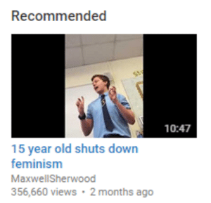 yassmines: saeyoungch0i:  oh boy  they caught him mid air quote I wanna die : Recommended  10:47  15 year old shuts down  feminism  MaxwellSherwood  356,660 views 2 months ago yassmines: saeyoungch0i:  oh boy  they caught him mid air quote I wanna die