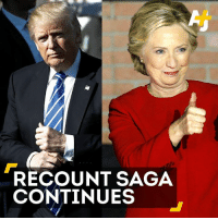 Do Trump, Clinton, and the Green Party all agree the ballots should be investigated for fraud?: RECOUNT SAGA  CONTINUES Do Trump, Clinton, and the Green Party all agree the ballots should be investigated for fraud?