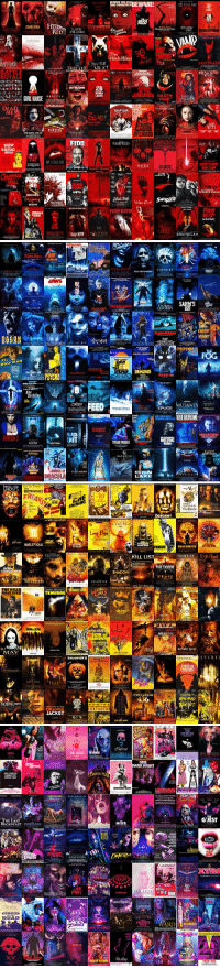 """the colors of horror movie posters"" i love this: RED  BATTLE  ROYALE  DRACULA  GIRL IOUSE  DEAD  PIECES  NIGHI  POMYYPO  LATE  PHASES  The  Hitch Hiker  INTRUDER  28  WEEKS  LATER  PHANTASM ANORDY  FIDO  VAMPIRES  FLESHEATE  HOLI  DEAT SASA  BLOODY BLOODY  BIBLE CAMP  suspiro  BRAIN SCAN   WOLF MA  DINER  SHROOMS  JANS  STORM  NSEMINOID  CENTURY  SEA FVIL  DEMONS  THE ACHT ONE  MUTANTS  CREEP  FEED  SPLICE  WNDCHILL,  VIDEODROME  THE FRIST NEW  MISERY  ACK  MELTING  EDEN  DRACULA  LAKE   HOSS. BROWNINGS  BOONE  The Birds  DESCENT  SALEM TORSO  FRONTIER  TrickrTreAt  KILL LIST  THE DIVIDE  SHADOW  ""ENCOUNTERS  THE HILLS  DAROARGENTO  TENEBRE  HAVE EYES  DAWN DEAD  ALPHABET LLER  MAY  LTE RED  HALLOWEEN II  FEAST  POPULATION  436  BIG BAD  OSTELARTH  CONTAGIO  ORANGE  JACKET   UUE CHRISTIE  CARRIES THE  DEMON SEED  THE LAST  BROADCAST  EXPRES  CKRCUS  DEAD  BLOB  ubspecies  US  THE VOICES  BES  WE ARE THE  RKING FEA  BAGS  FUNHOUSE  MASSACRE  OF SMILES  LAND  HIVE  CIRCLE  Darling  ONE  ARK NIGHT  ronoS  THE  BRAIN  DIE Eg  WARD  GUEST  TWINS EVIL ""the colors of horror movie posters"" i love this"
