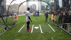 Chicago, Today, and Red: Red Bulln RT @BaseballBros: Kris Bryant will be launching baseballs into the Chicago River with @redbull today! https://t.co/kOBxkGK6iA