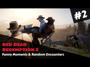 Red Dead Redemption 2 - Funny Moments & Random Encounters #2 https://www.youtube.com/watch?v=q21DjSw63uo&feature=youtu.bePeople seemed to enjoy the previous video I shared so here is a part 2! My vids rarely get any views unless I share them here so… thanks again for the support! :): Red Dead Redemption 2 - Funny Moments & Random Encounters #2 https://www.youtube.com/watch?v=q21DjSw63uo&feature=youtu.bePeople seemed to enjoy the previous video I shared so here is a part 2! My vids rarely get any views unless I share them here so… thanks again for the support! :)