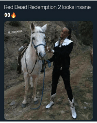 Blackpeopletwitter, Lost, and Red Dead Redemption: Red Dead Redemption 2 looks insane  @ Blockaye Red dead Redemption 2 : the lost huncho (via /r/BlackPeopleTwitter)