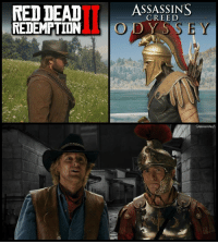 Video Games, Creed, and Red Dead: RED  DEAD  SSSSINS  CREED  REDEMPTIONO DYS  SHENANIGANZ https://t.co/oOvUXUOsTq