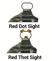 Thot, Video Games, and Red: Red Dot Sight  Red Thot Sight REMOVE THOTS