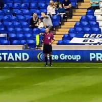 Football, Memes, and Game: RED  TANDze Group PR When you bring your wife to the football game and spend the entire 90 minutes explaining the offside rule😂😂