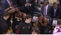 This is heartbreaking! Long uncut footage of LeBron, JR Smith & George Hill after Smith's mistake in Game 1. https://t.co/MplQoAkk0a: REDAPPLES  FIN This is heartbreaking! Long uncut footage of LeBron, JR Smith & George Hill after Smith's mistake in Game 1. https://t.co/MplQoAkk0a