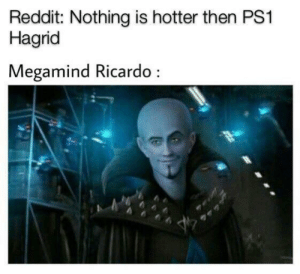 This is indeed a big oof by ThatGuy-C137 MORE MEMES: Reddit: Nothing is hotter then PS1  Hagrid  Megamind Ricardo This is indeed a big oof by ThatGuy-C137 MORE MEMES