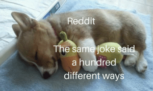 We serve the Soviet union: Reddit  The same joke said  a hundred  different ways We serve the Soviet union