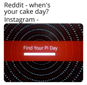 ITS NOT COPYING IF YOU CHANGE IT A LITTLE: Reddit - when's  your cake day?  Instagram-  cco9  6  1 186339876622 2  OPEO  Find Your Pi Day  70573397377294995200755489 0362257 74 1  ma  a972  6445990892322466069440 29296883  420617 177669  6 8 5 6 0 9 4 3 4422080 1.  b 0.11195909216420  192787  7  2 1  0  17122680 6 6 1 3  363  518707 2  8 470  O9635 763149  0 0 3.1 3783 8  598  5 2 3 9 3 9 8  1 867 1 76 1 1 4 0 2 3 7 9 4 8 4 4 2 8 30559632706683 80 0  065485 863278865936153 3 8 182796823030  20064074  50352  3 22567 9 1338  6891  78759 3751  27  2  52834  7 8 79 08 3 2  5 6 1 6  0 17 1 6078 86 1 9  597317 3  315  287554 68  59455 ITS NOT COPYING IF YOU CHANGE IT A LITTLE