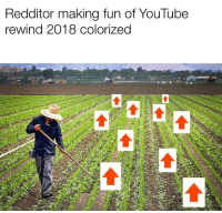 You know what this meme needs? K pop.: Redditor making fun of YouTube  rewind 2018 colorized You know what this meme needs? K pop.