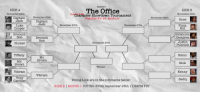 Pizza, The Office, and Link: Reddit's  SIDE A  The Office  SIDE B  November 25th  So Side  No Character Showdown Tournament  November 25th  November 26th  Captain  Jack  Captain  PRESENTED BY: RIPLDI  November 26th  Rose  Jack  Luke  Cooper  Broccoli  Rob  Hunter  November 27th  November 27th  Pizza  Kid  Hidetoshi  Hasagawa  Justin  Polzniclk  Broccoli  Rob  November 38th  Tiffany  Glenn  Mr.  Brown  Mr  Nick  Brown  Vikram  Tony  Winner  Kenny  Vikram  Gardneir  Voting Link are in the comments below!  Sadiq  SIDE B | ROUND 1 VOTING ENDS September 25th 11:59PM PST