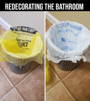 Meirl: REDECORATING THE BATHROOM  enon oemit ove  ot MIOL  10 Meirl
