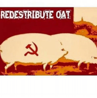 Give me some oats brother: REDESTRIBUTE OAT Give me some oats brother