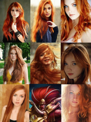 Redhead, Nothing, and Unparalleled: Redhead+doing nothing wrong= unparalleled attractiveness.