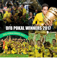Memes, 🤖, and Bundesliga: redit:  occerclub  DFB POKALWINNERS 2011  FB-POKALSIEGER 2  BE Congrats to Bvb 🏆 Do you think they can win Bundesliga next season?👇🏼