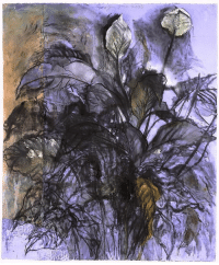 redlipstickresurrected:  Jim Dine (American, b. 1935, Cincinnati, OH, USA) - Cool Air, 107 Degrees, 2003  Charcoal, Pastels, Ink on Collaged Paper : redlipstickresurrected:  Jim Dine (American, b. 1935, Cincinnati, OH, USA) - Cool Air, 107 Degrees, 2003  Charcoal, Pastels, Ink on Collaged Paper