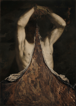 Paintings, Tumblr, and Blog: redlipstickresurrected:  Nicola Samorì (Italian, b. 1977, Forli, Italy, based Bagnacavallo, Province of Ravenna, Italy) - Anulante, 2018  Paintings: Oil on Copper