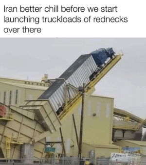 Redneck launch site: Redneck launch site