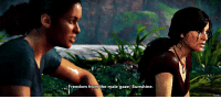 Target, Tumblr, and Blog: reedom from the male gaze; Sunshine. iures:    Incorrect Uncharted Quotes [ 24/?? ]