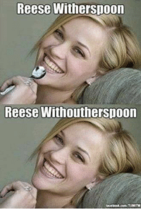I prefer with spoon: Reese Witherspoon  Reese Withoutherspoon  tacebook.com/TUMITW I prefer with spoon