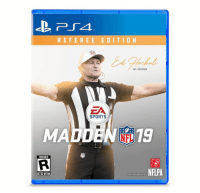 Nfl, Sports, and Madden: REFEREE EDITION  NFL REFEREE  EA  SPORTS  MADDEN 19  RIGGED  a NFLPA  GhettoGronk Who's Copping??? 🔥🔥🔥🔥