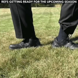 Memes, All The, and 🤖: REFS GETTING READY FOR THE UPCOMING SEASON Refs gearing up to get all the calls wrong this year like.... https://t.co/jcAkx4Ekft