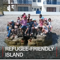 Memes, Work, and Greece: REFUGEE-FRIENDLY  ISLAND 13 JUL: Tilos, a Greek island with a population of 800, has welcomed 50 Syrian refugees. New arrivals are being given accommodation and residency, as long as they work and integrate. Find out more: bbc.in-tilos Greece Tilos Syria War Refugees BBCShorts BBCNews @BBCNews BBC