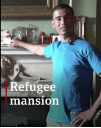 This is Tamer, a Syrian refugee who lives in a historic manor house. He fled Syria seven years ago because teenagers in his region were being forced to join the government army. Tamer successfully applied for asylum in the UK, but struggled to find somewhere to live until the trustees of Southside House, a historic home in London, offered him a place to stay. Tap the link in our bio 👆 to learn more about his story and see a longer video. syria syrianrefugees refugees london southsidehouse bbcnews: Refugee  mansion This is Tamer, a Syrian refugee who lives in a historic manor house. He fled Syria seven years ago because teenagers in his region were being forced to join the government army. Tamer successfully applied for asylum in the UK, but struggled to find somewhere to live until the trustees of Southside House, a historic home in London, offered him a place to stay. Tap the link in our bio 👆 to learn more about his story and see a longer video. syria syrianrefugees refugees london southsidehouse bbcnews