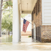 """Regram @proudamerican: """"An American flag was spotted last week flying from the porch of a flood-ravaged home in Houston, Texas, during Harvey relief efforts. (📸: @allisonermon_photography) 🇺🇸"""": Regram @proudamerican: """"An American flag was spotted last week flying from the porch of a flood-ravaged home in Houston, Texas, during Harvey relief efforts. (📸: @allisonermon_photography) 🇺🇸"""""""