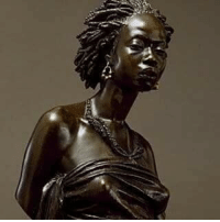 Memes, France, and Paris: @Regrann from @freeroots_project - Charles Cordier African Venus France (1851) Bronze, 39.5 cm. Cordier submitted a plaster cast of the bust of an African visitor to Paris to the Salon of 1848, and two years later he again entered it as a bronze (Walters 54.2664). A young African woman served as the model for this companion piece in 1851. Regarded as powerful expressions of nobility and dignity, these sculptures proved to be highly popular thefreerootsproject Regrann