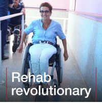 Africa, Memes, and Free: Rehab  revolutionary This is how one woman's bike accident transformed the lives of thousands of disabled people. Tap the link in our bio 👆to read more about Amina Slaoui, who built one of the largest rehab centres in Africa. One in five patients gets their treatment for free, paid for those who have insurance who can afford it themselves. morocco africa wheelchair disability instagood BBCWorldService BBCInnovators bbcnews