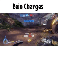 Funny, Lol, and Meme: Rein Charges  1  OUND WON  AAMINATO 10% ~Lol that was fast 😂 • Get Your D.va Bracelet from @letskillping ! • Lol account : @3xd3 - @sona • • Tags : Overwatch overwatchgame overwatchcosplay overwatchmemes overwatchhanzo hanzo genji Ana tracer reaper team_kill overwatchplays overwatchmeme play gamer gamer_girl player funny meme اوفرواتش اوفر_واتش owfam2