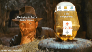 Funny, Meme, and The Next Episode: (rekdit  Silvar  Silver Award  Gold Award  Platinum Award  2 am  shitposting  Me trying to find a  funny meme  12.3k  made with mematic The quest for awards continue in the next episode...