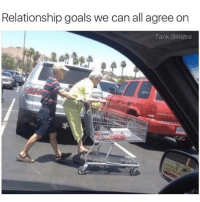 Goals, Memes, and Relationship Goals: Relationship goals we can all agree on  Tank.Sinatra tag someone this reminds you of 💖 (@tank.sinatra)