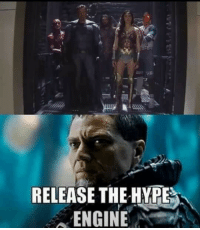 hype: RELEASE THE HYPE  ENGINE