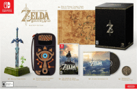 """Nintendo, Tumblr, and Blog: RELIC HYRULE: CALAMITY GANON  TAPESTRY AND WEATHER-WORN MAP  NINTENDO  SWITCH  THE LEGEND OF  DA  BREATH%-WILD  MASTER EDITION  Hyrule Worl  GB  SWITCR  THE LEGEND es  BREATHWILD  DA  sOUND SELECTION  BREATH WILD  ← NINTENDO SwITCHSHEIKAH  SLATE CARRYING CASE  THE LEGEND OF ZELDA:  BREATH OF THE WILD GAME  SHEIKAH EYE  COLLECTIBLE COIN  MASTER SWORD STATUE  24-SONG SOUNDTRACK CD  Ninlendo <p><a href=""""http://shelgon.tumblr.com/post/155795469059/the-legend-of-zelda-breath-of-the-wild-switch"""" class=""""tumblr_blog"""">shelgon</a>:</p><blockquote><p>The Legend of Zelda: Breath of the Wild – Switch boxart, Master Edition revealed<br/></p></blockquote> <p>ok so how much is this? 4000 dollars? 5000 dollars? i don't care just let me buy it</p>"""
