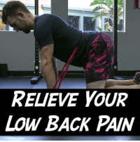 "Memes, Good, and Pain: RELIEVE YOUR  LOW BACK PAIN THE FIRST STEP IN LOW BACK REHAB One of the first things I do with a low back case is see how much they can move their spine. But it's important to do it correctly.✅ . With acute back pain 😣, moving much out of neutral can be very painful if you are standing or sitting, and chronic cases will often be sensitive to either flexion or extension. This is because the spine is in a weight bearing position and will often spasm or pinch if you go into a motion your body doesn't feel safe with.🙅‍♀️ This gives us a dilemma because motion can often be relieving for pain but if it hurts to move, we don't want to push you too far into it. . What we can do instead is move to all fours where our spine is no longer weight bearing. This position requires less stability so your body sees it as ""safer"", and it will often allow you to move your back here without pain or spasm. . 🐈🐄The banded cat-cow is one of my favorite ways to do this because the band acts as feedback to make sure we move our low back and not just our mid to upper back. Go slow and expand ROM slowly. You may find pain at the end ranges so don't push too far. Just touch it and reverse. You'll find that more motion often opens up as you do it. Do 25 with the band and then try to replicate 10 to 15 good reps without it. . Tag a friend with low back pain and share the wealth! . MyodetoxOrlando Myodetox"