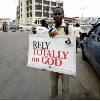 God, Memes, and Streets: RELY  TOTALLY  on GOD  fword on the streets global