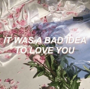 remanence-of-love:  A bad idea…: remanence-of-love:  A bad idea…