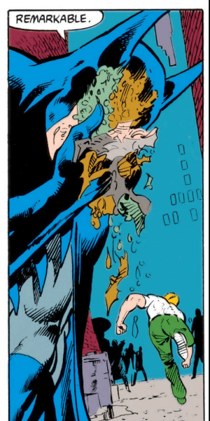 Batman could never get enough of good old garbage: REMARKABLE  0000 Batman could never get enough of good old garbage