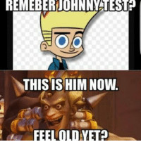 REMEBERiJOHNNMATEST?  THIS HIM Now.  FEEL OLDYET Overwatch Overwatchmemes funny meme memes