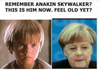 True 😂😂😬 Partnerseiten: @das_backpapier @downhumor @rage__clan_ @gamefaxts schwarzerhumor: REMEMBER ANAKIN SKYWALKER?  THIS IS HIM NOW. FEEL OLD YET? True 😂😂😬 Partnerseiten: @das_backpapier @downhumor @rage__clan_ @gamefaxts schwarzerhumor