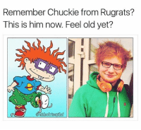 Chucky, Funny, and Rugrats: Remember Chuckie from Rugrats?  This is him now. Feel old yet?