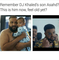 😂💀 Crying: Remember DJ Khaled's son Asahd?  This is him now, feel old yet? 😂💀 Crying